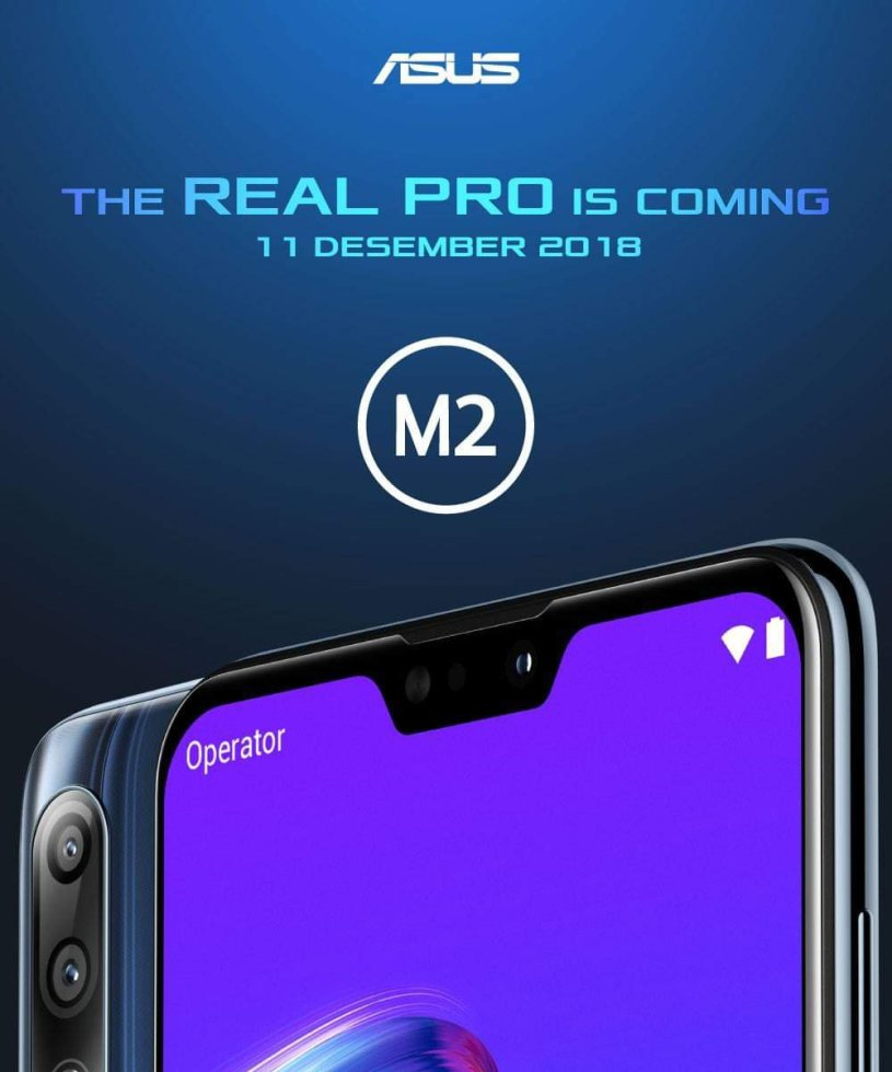 Asus Zenfone Max Pro M2 Official Image Released Alloydroid